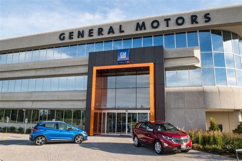 Ontario Technology Hubs Key For Gm Canada's Plans For