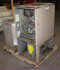 York Stellar Natural Gas Furnace Item L9528 Sold  April  York Electric Furnace