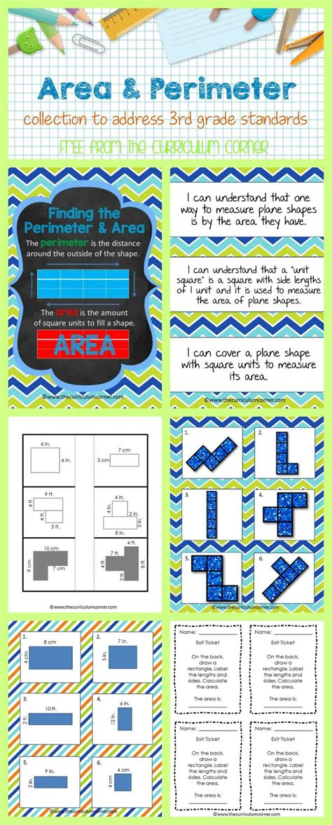 The 25+ Best Area And Perimeter Games Ideas On Pinterest  Area Games, Area And Perimeter And