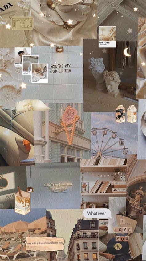 cream aesthetic wallpaper   cream aesthetic