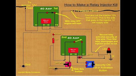 How Connect Power Relay Youtube