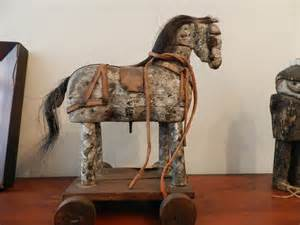 antiques atlas victorian toy wooden horse