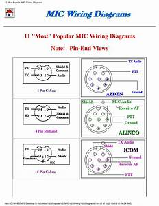 5 Pin Cb Microphone Wiring Diagram
