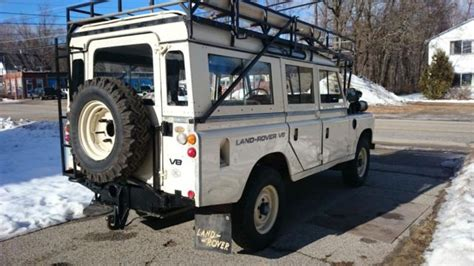 1981 expedition land rover series 3 109 v8 stage one