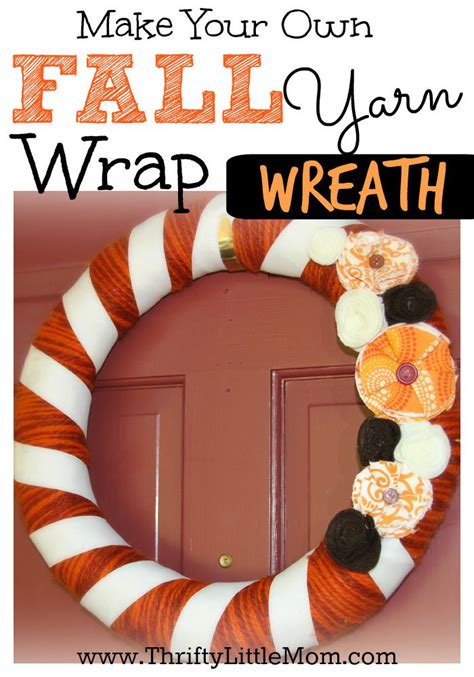 make your own fall wreath simple seasonal wreath instructions 187 thrifty little mom