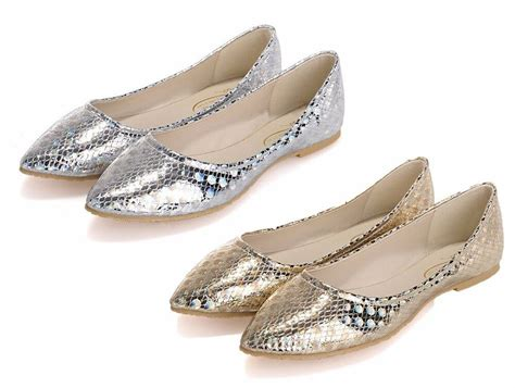 Ballet Flats Shoes : Womens Fold Up Ballet Flats Shoes Bridal Wedding Flats