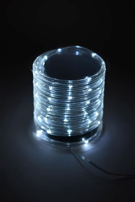 battery operated mini led rope light cool white 15ft 60ct