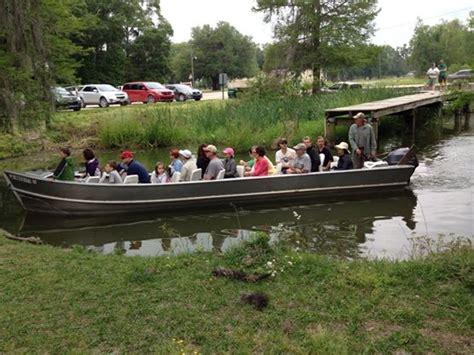 Flat Bottom Boat Louisiana by South Louisiana Sw Tours