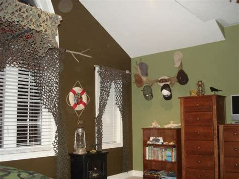 Outdoor Camo Room, An Outdoor Theme With A Splash Of
