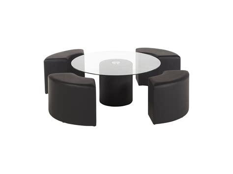 table basse avec poufs integres maison design hosnya