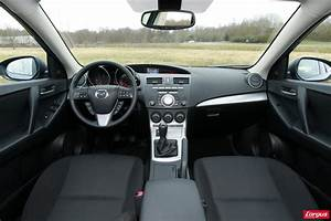 Mazda3 Dynamique : essai mazda 3 1 6 mz cd l 39 argus ~ Gottalentnigeria.com Avis de Voitures