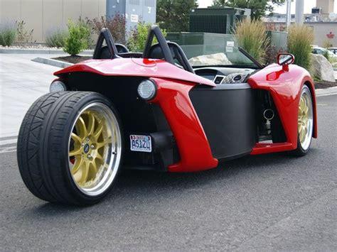 Vanderhall Introduce Three-wheel