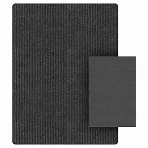 tapis d39entree ensemble de 2 noir rona With porte d entrée pvc avec ensemble de tapis de salle de bain