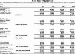 financial statement template download free premium With projected financial statement template