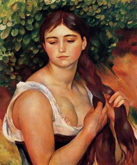 The Braid Suzanne Valadon 1884 1886 Pierre Auguste