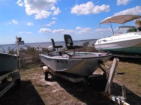 15 Ft Boat by 1982 Grumman Aluminum 15 Ft Bass Boat 2000 Johnson 25 Hp