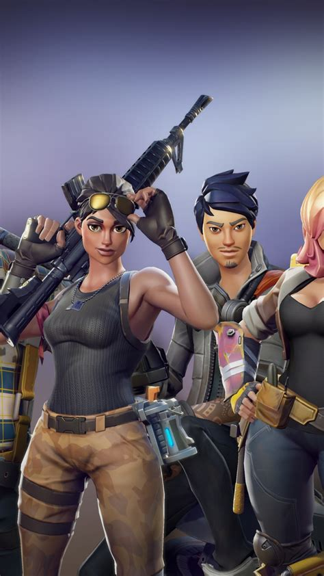 Online game application screenshot, fortnite, pc gaming, game logo. Fortnite heroes - Download 4k wallpapers for iPhone and Android