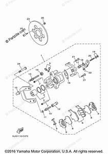 Yamaha Side By Side 2007 Oem Parts Diagram For Rear Brake