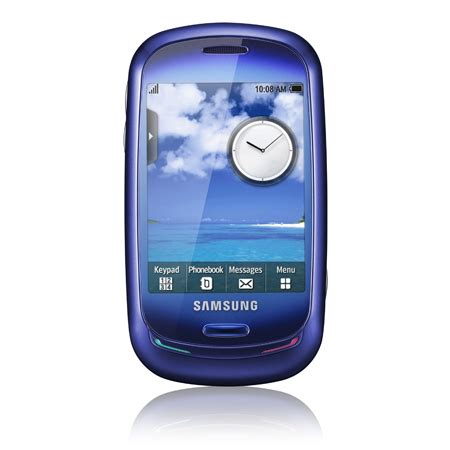blue mobile phone samsung blue earth cell phone is made from recycled
