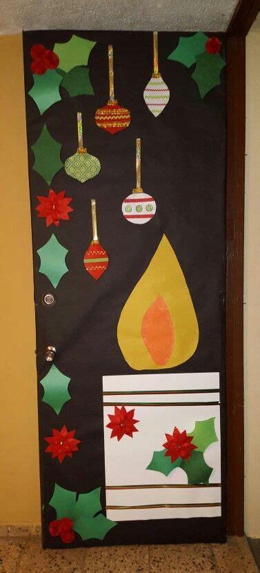 puerta decorada proyectos escuela pinterest puertas