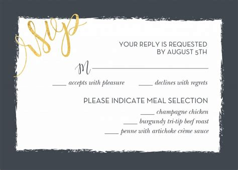 Rsvp Template For Event Wedding Rsvp Wording And Card Etiquette Shutterfly