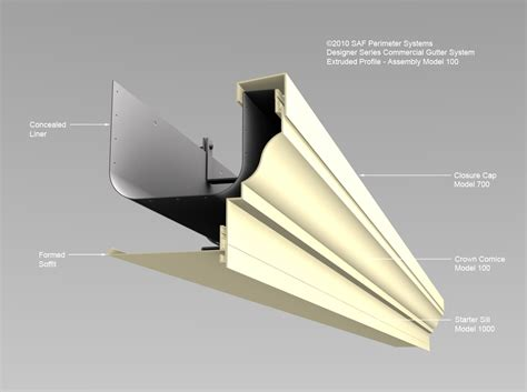 Extruded-Gutter-100 - SAF - Southern Aluminum Finishing Co ...