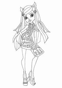 Baby Monster High Venus Coloring Pages | Car Interior Design