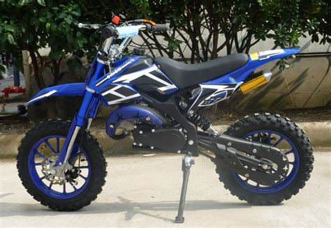 50cc motocross bike mini moto 50cc dirt bike kxd01 blue left rc hobbies