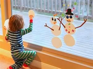 Basteln Winter Kinder : bezaubernde winter fensterdeko zum selber basteln ~ Frokenaadalensverden.com Haus und Dekorationen