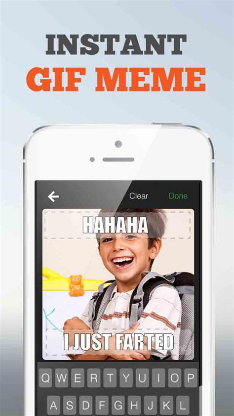 Apps To Make A Meme - gifnic create gif meme selfies app insight download