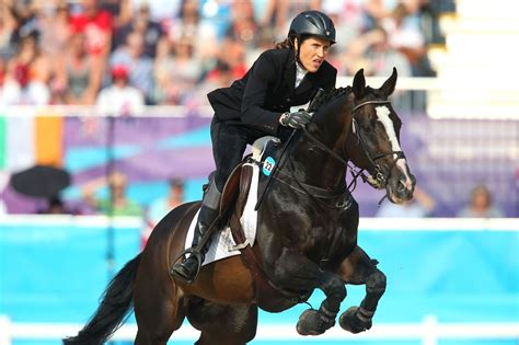 olympics olympic modern pentathlon riding horses horse jumping games elena apparently psychologists own quel ange latvia during equestrian compete london