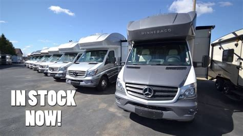 sprinter rv motorhomes  sale youtube