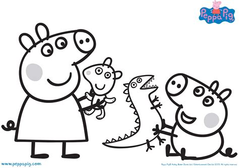 peppa pig coloring pages printable  coloring books