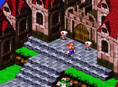 Super Mario Rpg Land Of The Seven Stars Review Snes
