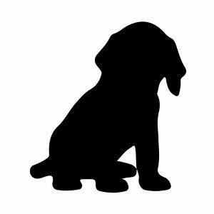 List of Synonyms and Antonyms of the Word: puppy silhouette