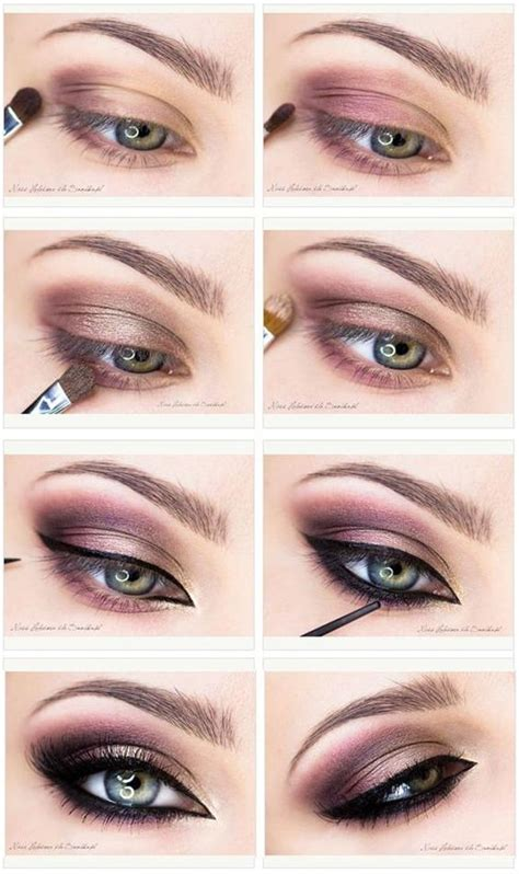 step  step smoky eye makeup tutorials  beginners
