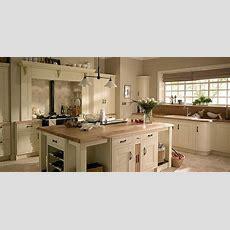 White Kitchen Black Appliances Wooden Worktop  Google