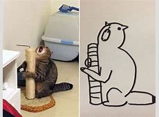 SuperRealistic Drawings of Cats