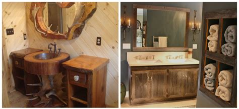 Rustic Bathroom Decor Best Styles And Ideas For Rustic