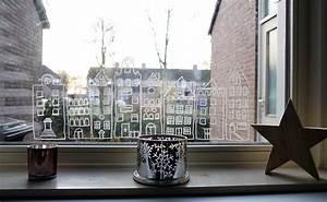Fenster Bemalen Weihnachten : windowpainting mit kreide die fenster dekorieren lotte lieke lifestyle und mamablog ~ Watch28wear.com Haus und Dekorationen