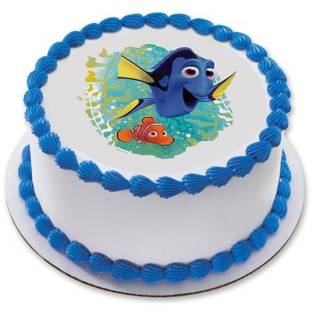 finding dory   edible cake topper  party