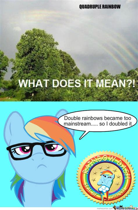 Internet Rainbow Meme - quadruple rainbows are the new double rainbow by radon online meme center