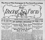 Racing: Daily Racing Form