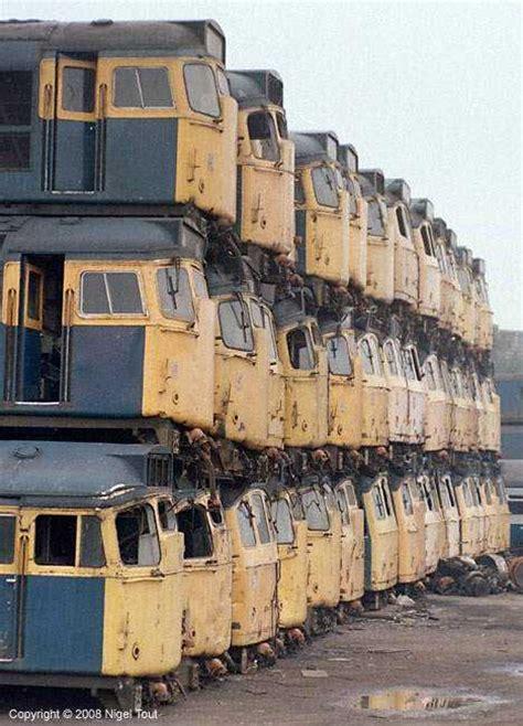 railroaded  nifty abandoned train car graveyards urbanist