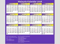 Calendar 2018 Public Holiday Malaysia kalentri 2018