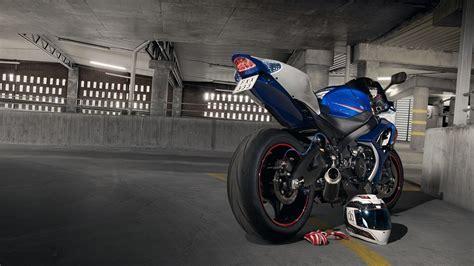 Wallpapers Suzuki Gsx-r1000 Parking Motorcycles 1920x1080