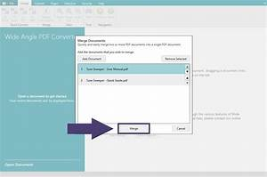 how to merge pdf documents With combine documents together