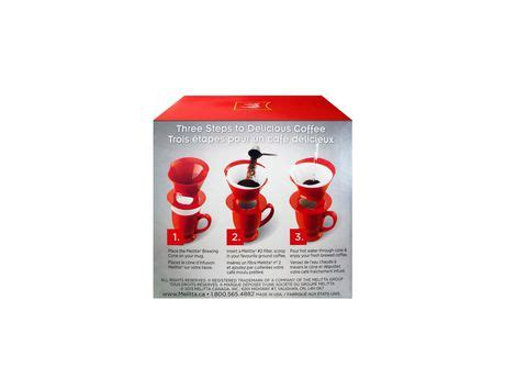 This convenient set is dishwasher safe for fast cleanups. Melitta Pour over Coffee Brewer   Walmart Canada