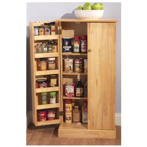kitchen storage cabinet pantry utility home wooden