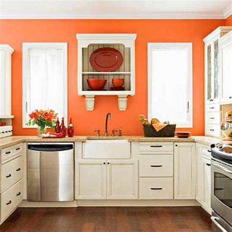 orange kitchens ideas reddish orange interior decorating ideas color trends 2012